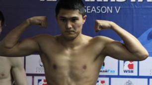 Казахстанский боксер Мейирим Нурсултанов прошел взвешивание перед дебютом в профи