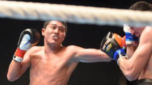 Казахстанский боксер дебютировал с победы на профи-ринге в андеркарте боя Ковалев - Уорд