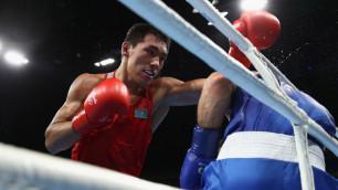 Видео первой победы Жанибека Алимханулы на чемпионате Казахстана