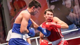 Определились все полуфиналисты чемпионата Казахстана по боксу