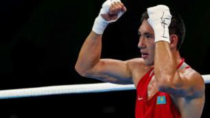 Алимханулы отправил трижды в нокдаун второго подряд соперника на чемпионате Казахстана
