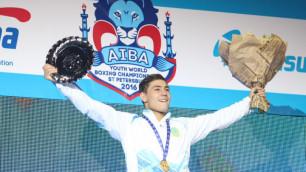 Казахстанский боксер-нокаутер стал чемпионом мира