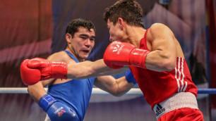 Определены все финалисты чемпионата Казахстана по боксу
