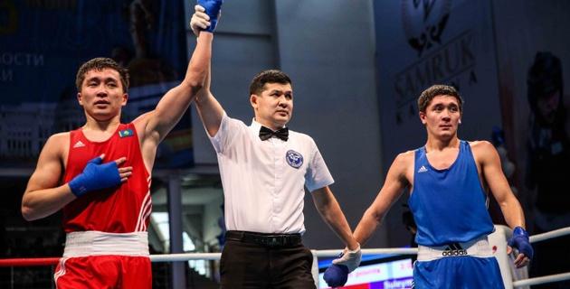 Кайрат Ералиев стал чемпионом Казахстана по боксу