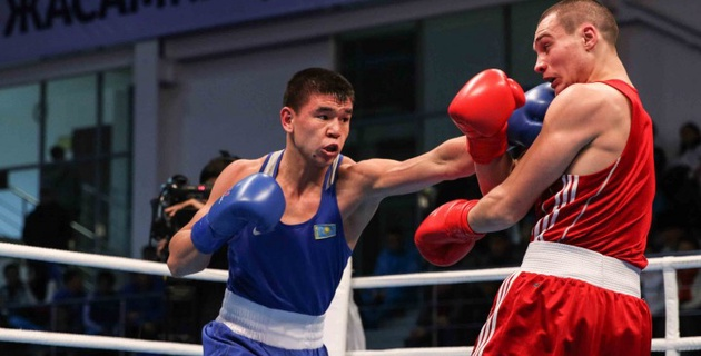 Абылайхан Жусупов стал новым чемпионом Казахстана в весовой категории Данияра Елеусинова