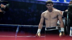 Казахстанский нокаутер Ахмедов в следующем бою встретится с боксером из Латвии