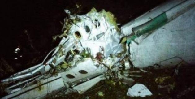 Футболист бразильского клуба выжил в авиакатастрофе в Колумбии