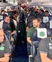Появилось видео из разбившегося самолета с бразильскими футболистами