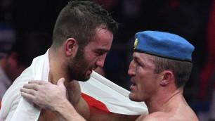 Мурат Гассиев победил Дениса Лебедева и завоевал титул IBF