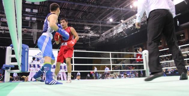 Адильбек Ниязымбетов помог своей команде победить на Кубке Конфедерации-2016 в боксе