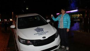 Автомобиль на Кубке Конфедерации получила двукратная чемпионка Казахстана по таеквондо