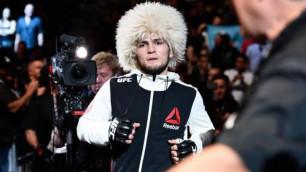 Боец UFC Хабиб Нурмагомедов приедет в Алматы