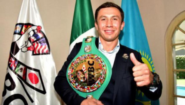 WBC номинировал Головкина на звание лучшего чемпиона года