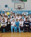 Олимпийские призеры Горичева и Тенизбаев провели уроки физкультуры в Талдыкоргане