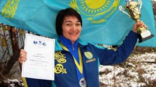 Актюбинская спортсменка стала трехкратной чемпионкой мира в 41 год