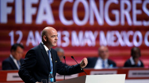 Президент ФИФА поздравил Байшакова с избранием на пост главы ФФК