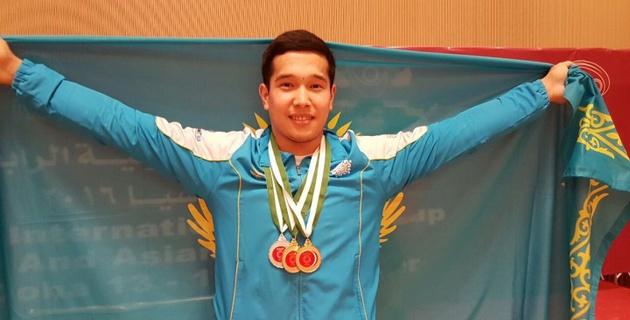 Тяжелоатлет Айдар Казов стал победителем Кубка Азии