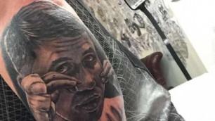 Британский фанат сделал татуировку с портретом Геннадия Головкина