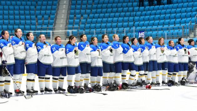 Казахстанские хоккеистки начали с поражения второй этап квалификации Олимпиады-2018