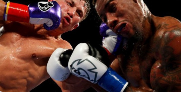 Я видел, что значит боксировать на высоком уровне, когда вышел на ринг против Головкина - Монро-младший