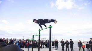 В 2016 году НОК построил 21 спортивную зону Street Workout