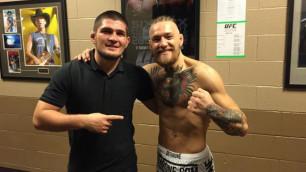 Следующий бой МакГрегор может провести с Нурмагомедовым - президент UFC