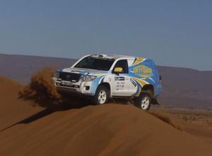 Экипаж Off Road Kazakhstan выиграл третий этап подряд на ралли Africa Eco Race-2017