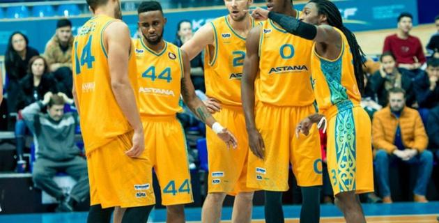 """Баскетболисты """"Астаны"""" одержали шестую победу в Единой лиге ВТБ"""