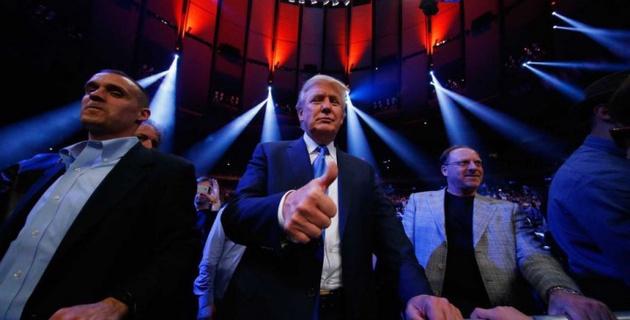 Трамп оценил талант Головкина и посетил два боя. Но мы пока не знаем, приедет ли он 18 марта - промоутер