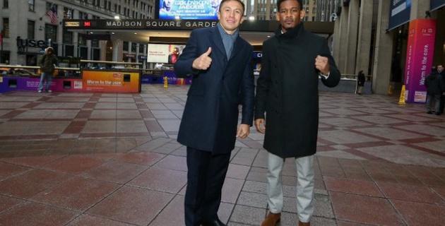 Фоторепортаж: Головкин и Джейкобс в Нью-Йорке