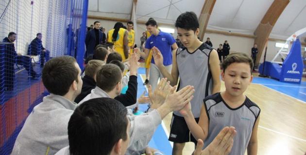 В Астане открылась детская Академия баскетбола