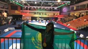 Студентка из Казахстана выиграла турнир по джиу-джитсу в ОАЭ