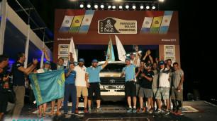 """Экипаж Astana Motorsports завоевал """"бронзу"""" в своем классе на """"Дакаре"""""""