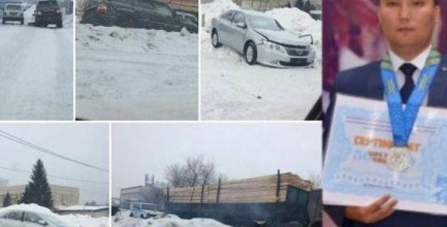Казахстанский спортсмен разбился в аварии в Семее