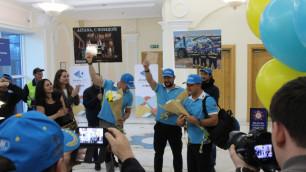 """""""Гонка была непростой"""". Команда Astana Motorsports вернулась домой с """"Дакара"""""""