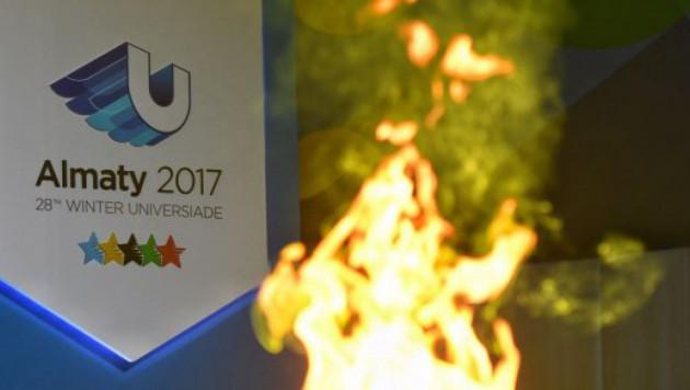 Президент Казахстана дал старт эстафете огня Универсиады-2017