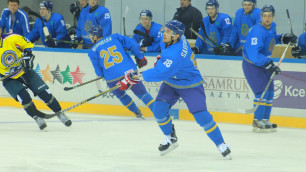 Сборная Казахстана по хоккею разгромила Китай со счетом 22:0 на старте Универсиады-2017