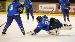 Будем бороться только за победу - хоккеистка сборной Казахстана Рамазанова