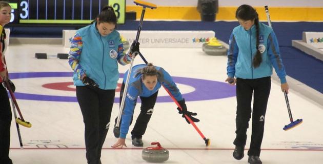 Женская сборная Казахстана по керлингу стартовала с поражения на Универсиаде-2017 в Алматы