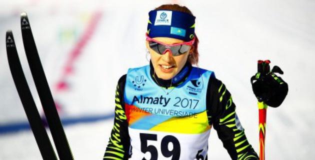 Казахстанская лыжница Анна Шевченко завоевала вторую медаль на Универсиаде-2017
