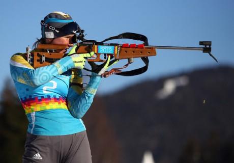 Галина Вишневская. Фото с сайта biathlon.kz