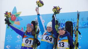 Казахстан расположился на втором месте по итогам второго медального дня на Универсиаде-2017