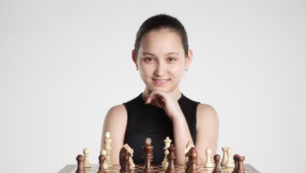 Жансая Абдумалик признана самой красивой шахматисткой Евразии
