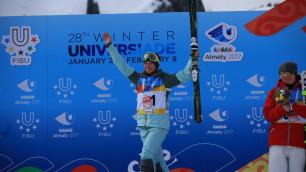 Галышева и Колмаков выиграли квалификацию в параллельном могуле на Универсиаде в Алматы