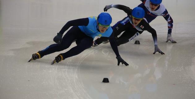 Мужская сборная Казахстана по шорт-треку выиграла бронзовую медаль в эстафете на Универсиаде-2017