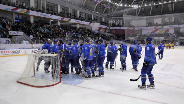 Сборная Казахстана по хоккею в третий раз подряд сыграет в финале Универсиады