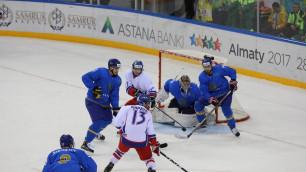 Видео всех шайб матча Казахстан - Чехия в полуфинале Универсиады-2017