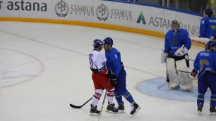 Пропущенная шайба от Чехии заставила нас забегать быстрее - вратарь сборной Казахстана
