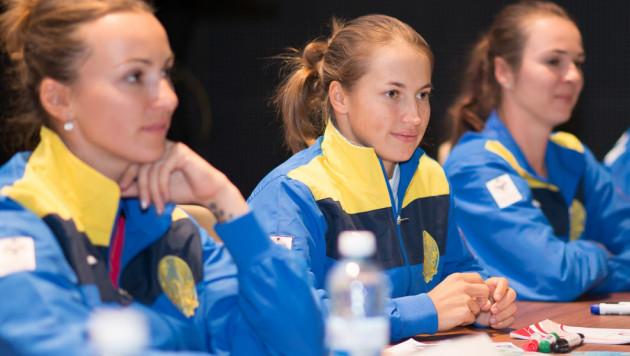 Казахстанские теннисистки выиграли первый матч в Кубке Федерации