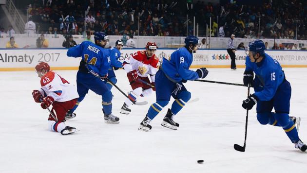 Завершился второй период в финальном матче Универсиады-2017 между Казахстаном и Россией
